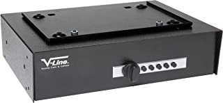 V-Line Hide Away Keyless Security System for Valubles and Firearms (Black)