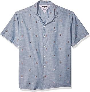 Men's Big and Tall Button Down Short Sleeve Shirt