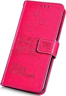 5.5 SsHhUu Custodia Huawei P9 Plus TPU Rosso PC Dual Layer Protettiva Slittata Antiurto Resistente Armatura agli Urti Case Ibrida Bumper Frame Protettiva Custodia per Huawei P9 Plus