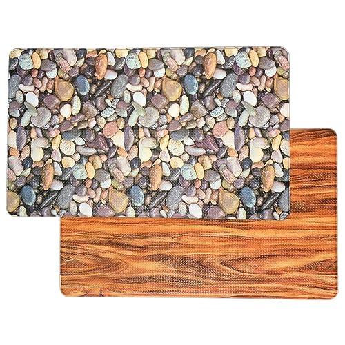 Remarkable Wood Floor Kitchen Rug Amazon Com Interior Design Ideas Clesiryabchikinfo