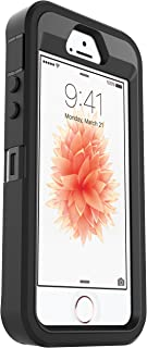 OtterBox Defender Series Case for Apple iPhone SE, iPhone 5s, iPhone 5 (Case Only, No Holster) Non-Retail Packaging - Black