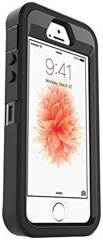 OtterBox Defender Series Case for Apple iPhone SE (1st Generation ONLY), iPhone 5s, iPhone 5 (Case Only, No Holster) ...