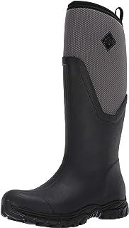 Muck Boot Women's Arctic Sport II Tall Snow Boot, Black/Gray, 10