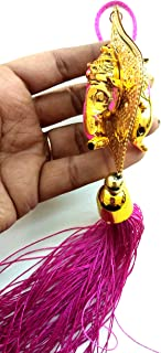 Ganesha Ganpati Bapa (Accident Prevention) Wall Hanging Door Hanging Car Hanging for Prosperity Good Luck Perfect Housewarming Gift, Hindu Elephant God of Success Power Growth Remove Obstacles.