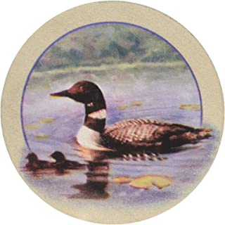 Thirstystone Stoneware Loons Coaster, Multicolor