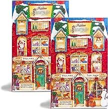 (2 Pack) Madelaine 2019 Chocolate Advent Calendar Christmas Countdown With 24 Premium Milk Chocolates - 8 Ounce (226 Gram)
