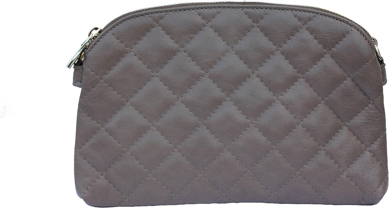 Schultertasche Umhängetasche Handtasche Damentasche Taupe Nappa Leder Leder Leder gesteppt B00SWUKHE4  Gutes Design 7d6905