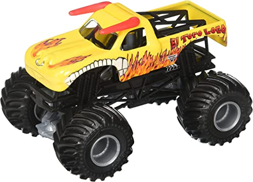 Hot Wtalons Monster Jam Le taureau fou (Mattel)
