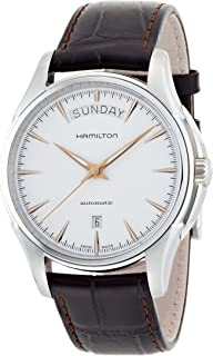 Hamilton Men's Automatic Jazzmaster Silver Dial Stainless Steel Watch