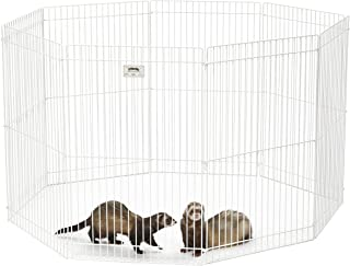 MidWest Homes for Pets 100-29 Ferret Nation Small Animal Exercise Pen