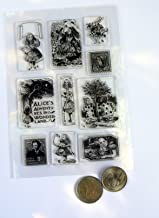 CC1 Alice in Wonderland Clear Rubber Stamp Set
