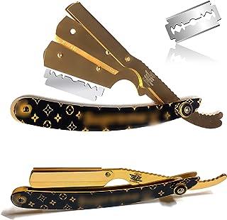 gold straight razor - Amazon.com
