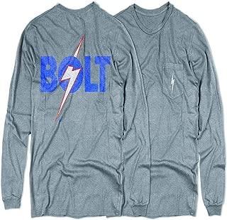 Negro L.Bolt Team Hawaii Ss Pocket Tee Camiseta M Black Hombre