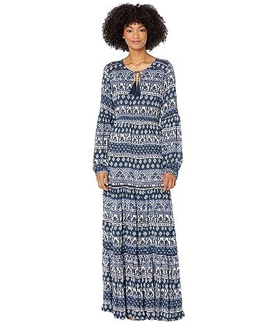 Rip Curl North Coast Maxi Dress (Navy) Women