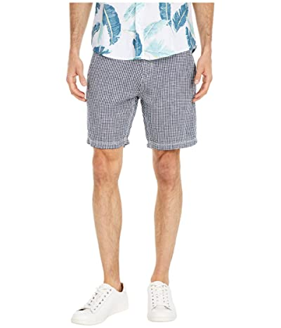 onia Austin Linen Shorts (Deep Navy 1) Men