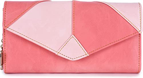 Butterflies Women Wallet Dark Peach Peach BNS 2442DPCH