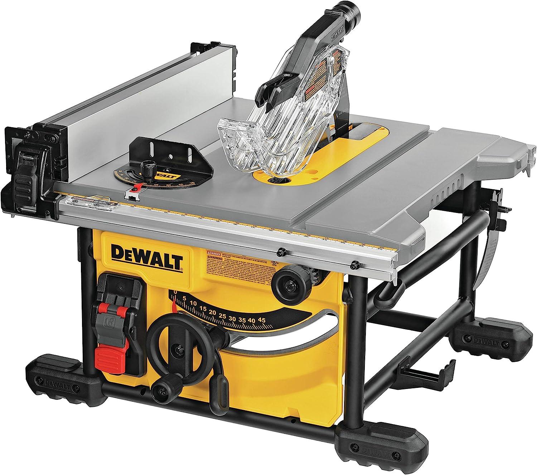 DEWALT DWE7485 Hybrid Table Saw Under $1000