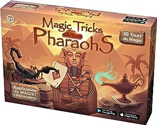 Mikael Montier - Juego de Magia Digital (80 Trucos de Magia) - Magic Tricks of The Pharaohs - Caja con Aplicación Móvil (iOS y Android) para Niños, Adolescentes y Adultos – Magia Profesional Fácil