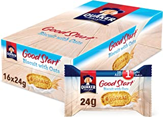 Quaker Good Start Biscuits With Oats, 24 gm x 16