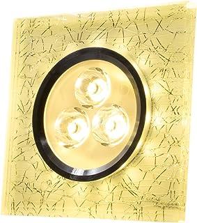 SpiceLED/CrushLED Panneau en retrait 6W intérieur blanc chaud/extérieur blanc chaud Effet