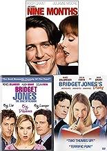 Dilemma Diary Hugh Grant Bridget Jones + The Edge of Reason Part 2 & Nine Months 3 DVD Bundle Romantic Comedy