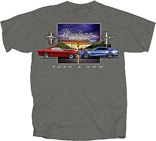 Joe Blow Ford Mustang Then & Now T-Shirt