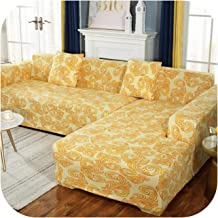 Elastic Sofa Cover Cotton All-Inclusive Stretch Slipcover Sofa Towel for Living Room Two/Three/Four Seat-O-2-Seat 145-185C...