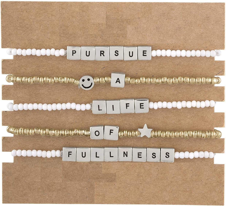 At the price RACHEL [Alternative dealer] Rachel Roy Multi Layer Stretch Bracelets Women Fashio for