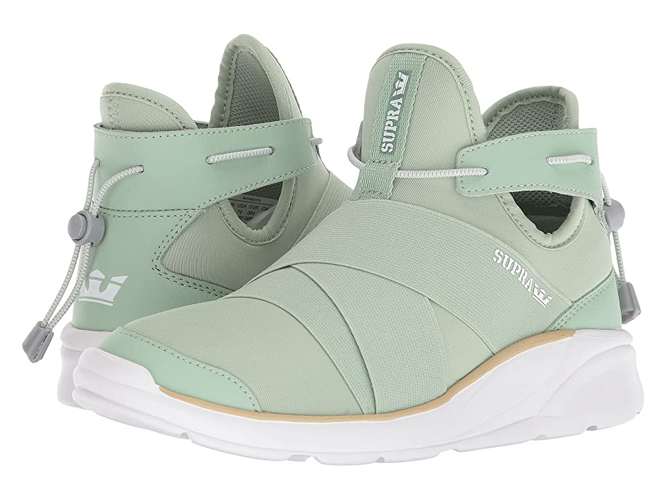 Supra Anevay (Smoke Green/White) Women