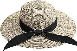 spyman Summer Sun Hat for Women Straw Hat for Beach Sun Hat Travel Bucket Hat Panama for Girls Fashion Design