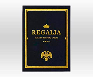 Black Regalia Playing Cards by Shin LIM | Luxury Playing Cards for Card Collectors, Magicians, cardists