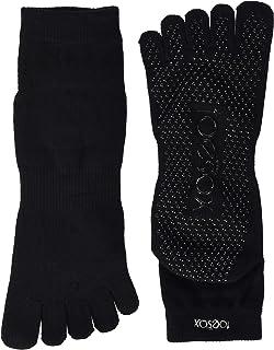 Toesox Full Toe Ankle Calzini di Yoga, Unisex Adulto
