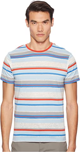 Orlebar Brown - Sammy Linen Stripe T-Shirt
