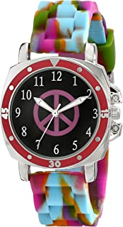 Frenzy Kids' FR303 Mood Dial Peace Watch