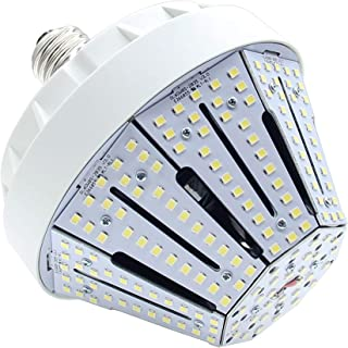 New Sunshine 60W LED Corn Light Bulb for Indoor Outdoor E26 9150LM 5000K Cool White Replacement for 175W CFL/MH/HID/HPS for Low Bay Street Lamp Post Lighting Garage Factory Warehouse