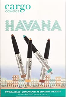 Cargo Cosmetics - Swimmables Longwear eyeshadow stick, Water Resistant, Budgeproof, Smudge-Proof, Transfer-Proof, Crease-Proof,  Limited Edition Havana Nights