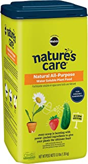 Nature's Care Natural All-Purpose Water Soluble Plant Food, 3 lbs