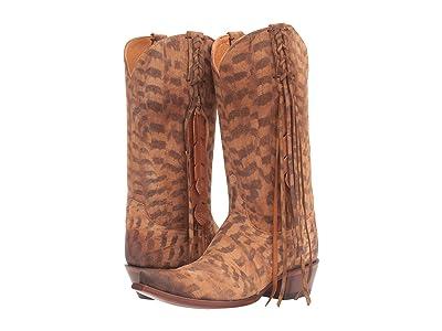 Lucchese Tori (Tan) Cowboy Boots