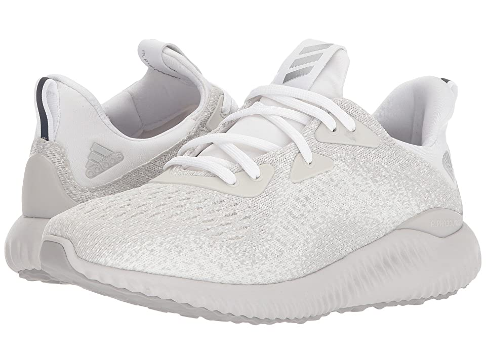 adidas Kids Alphabounce EM (Big Kid) (Grey/Silver) Kids Shoes