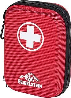 GEIGELSTEIN Botiquín de Primeros Auxilios Compact, Made in Germany, con Pinzas de Acero Inoxidable