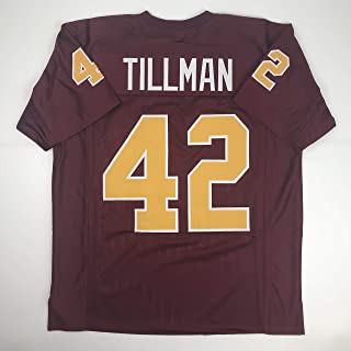 Unsigned Pat Tillman Arizona State Red Custom Stitched College Football Jersey Size Men's XL New No Brands/Logos