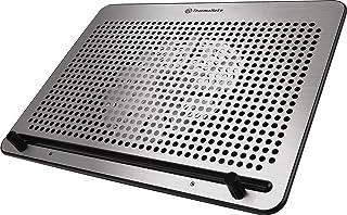 "Thermaltake Massive A21 Aluminum Panel Single 200mm Fan 10""-17"" Laptop Notebook Cooling Pad CL-N011-PL20BL-A"