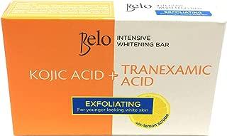 New! Belo Kojic + Tranexamic Acid Intensive Whitening Exfoliating Lemon Scrub Soaps