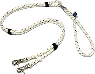 ドッグ・ギア ザイルリードタイプW ロープ径10mm 全長180cm ホワイト 「大切な愛犬を迷子犬にしないためのリードです」