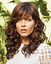 Brittany (Exclusive) Monofilament Synthetic Wig By Amore Auburn Sugar-R