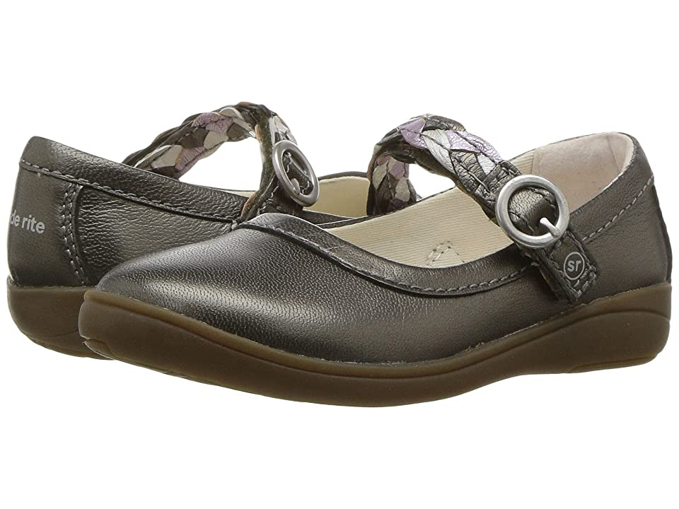 Stride Rite Brielle (Toddler/Little Kid) (Pewter) Girls Shoes
