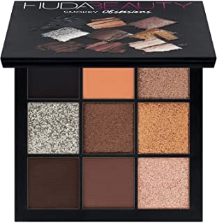 Smokey Obsessions Eyeshadow Palette by Huda Beauty - 9 Colors