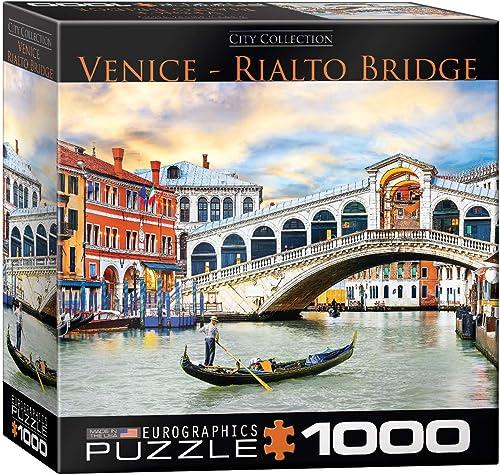 Eurographics 20.320–1.945,6cm Venice Rialto Bridge Puzzle (1000 ile)