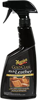 Meguiar's Leather Cleaner & Conditioner Spray - Gold Class - 3 in 1 with Protection - G10916C
