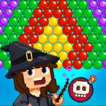 Witch Pop Magic - New Bubble Shooter Game